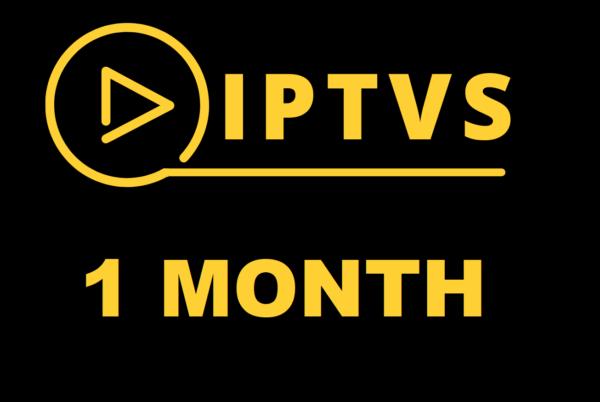 IPTVS 1 MONTH