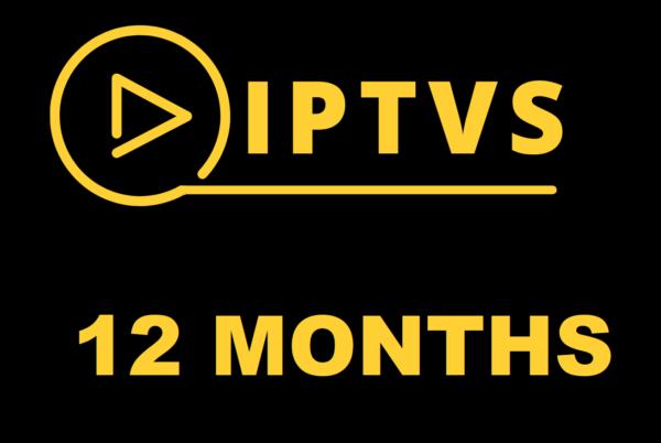 IPTVS 12 MONTHS